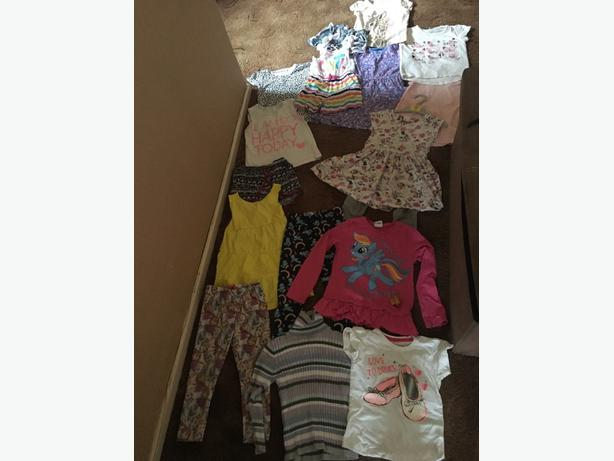 girls 3-4 clothes bundle
