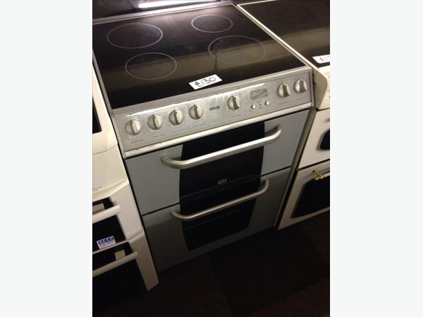 CREDA DOUBLE OVEN FAN ASSISTED ELECTRIC COOKER