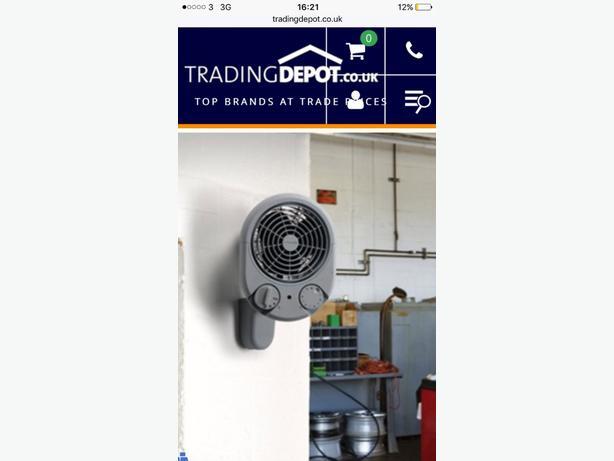 dimplex garage fan heater