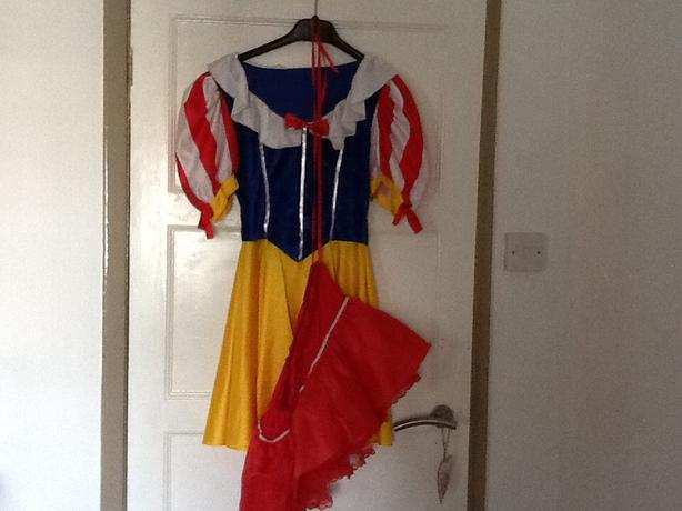 Fancy dress.. Snow white
