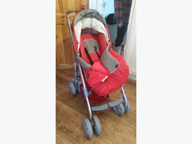hawk single pushchair