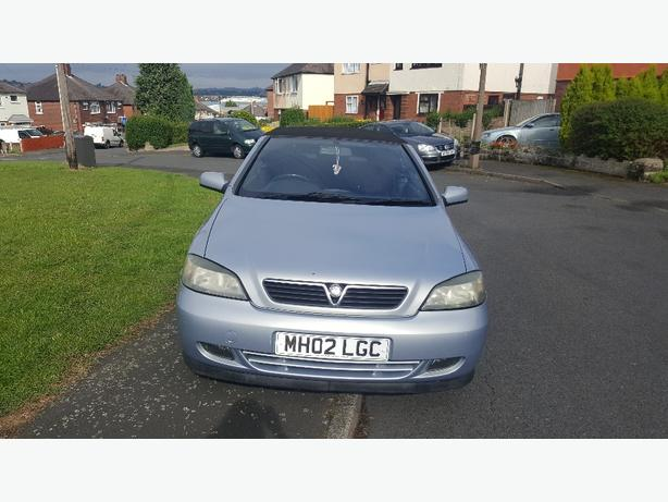 vauxhall astra 1.6 convertable