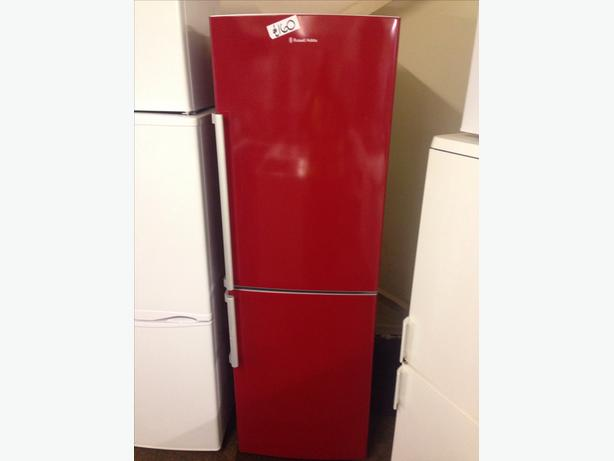 RED RUSSELL HOBBS  FRIDGE FREEZER01