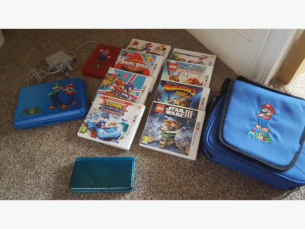 3ds,games and accessories