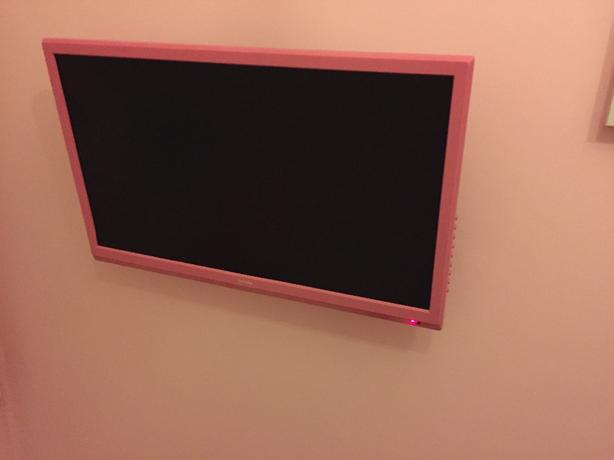 "22"" pink TV/DVD full hd led"