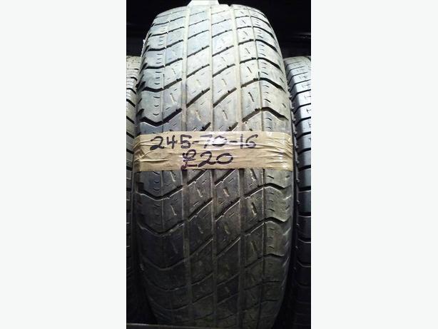 245-70-16 Goodyear Wrangler 107H 3.5mm Tyre