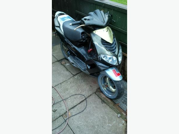 moped (spares or repairs)