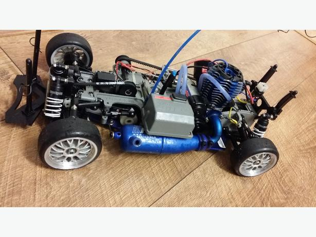 traxxas 1:10 professional nitro rc car
