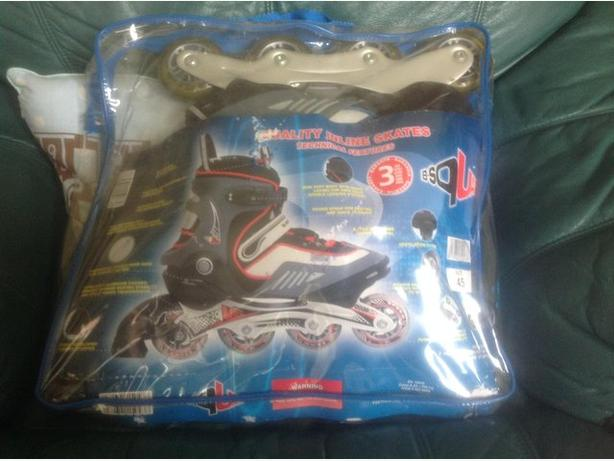 adult inline skates will fit UK size 8