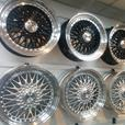 "new set of 18"" inch Calibre Vintage Alloy wheels for VW Transporter T4"