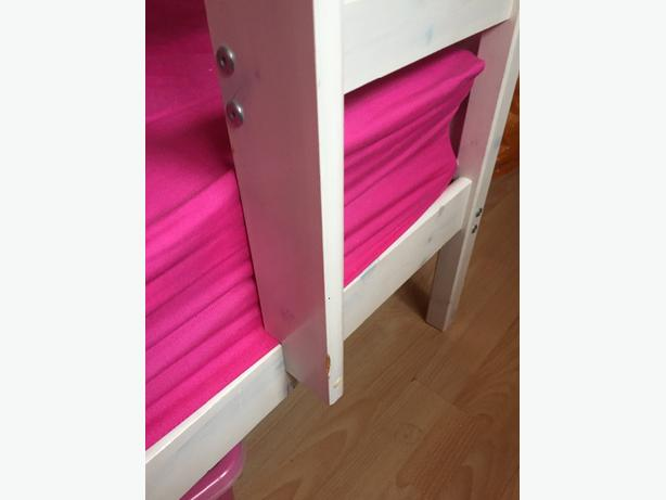 White Wash Childrens Bunk Beds