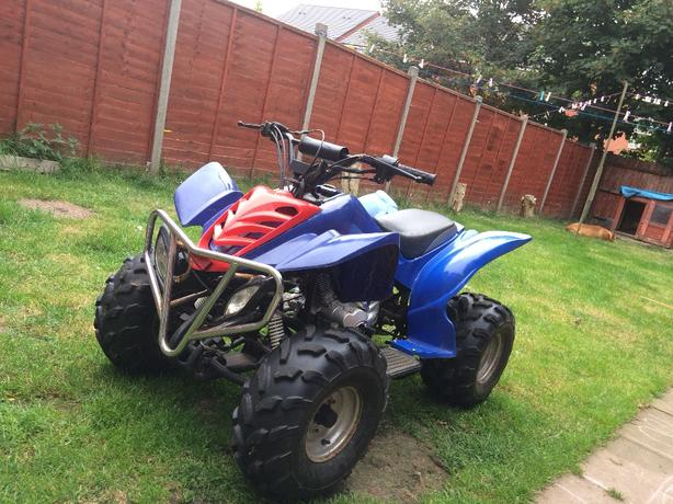 quadzilla 4 gears and reverse gear runs mint