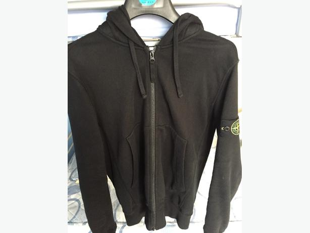 Stone island black hoodie