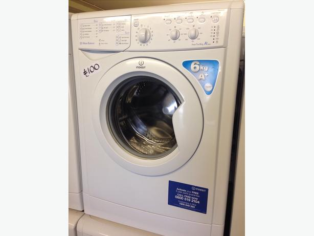 6KG INDESIT WASHING MACHINE004