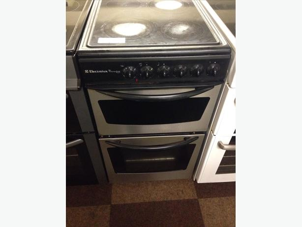 ELECTROLUX DOUBLE OVEN ELECTRIC COOKER