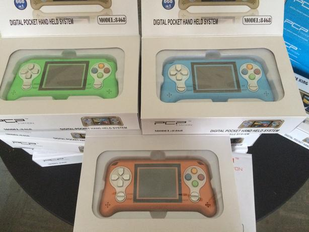 Hand held games consoles