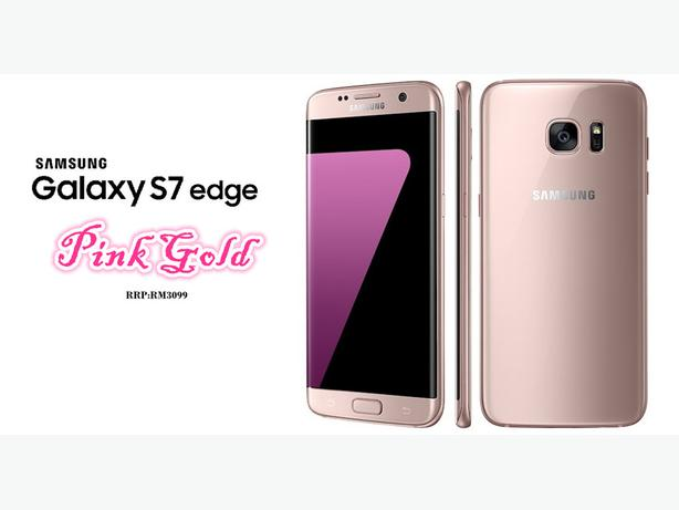 Samsung Galaxy S7 Edge Pink Gold 32 Gb BNIB