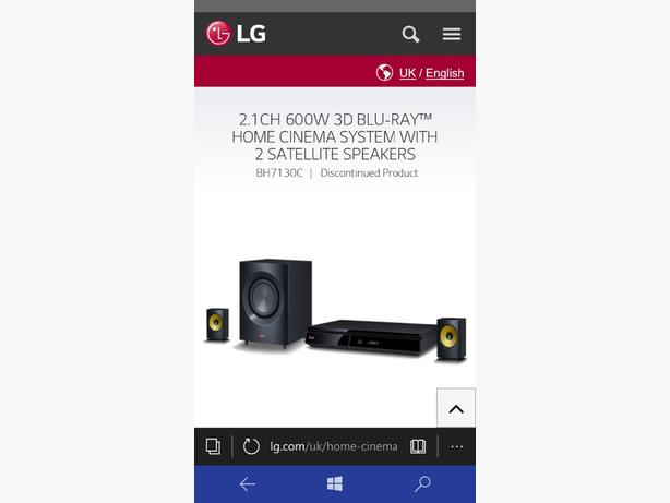 lg 3d smart blueray and home surrounds