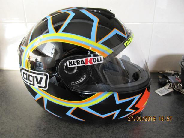 AGV K3- Valentino Rossi Replica Motorcycle Helmet
