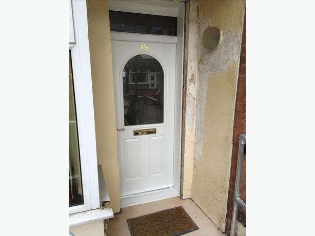 Upvc and composite door