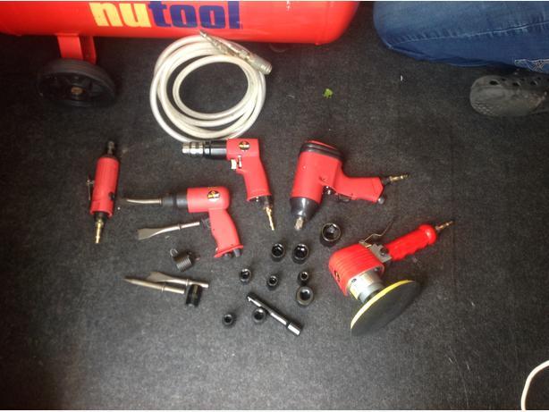 Compressor  & tools and mig welder