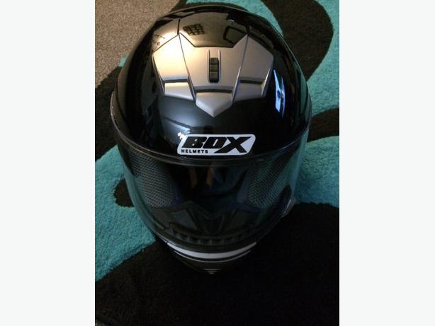 box helmet