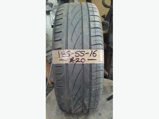 185-55-16 Continental Premium Contact 87H 4mm Part Worn Tyre