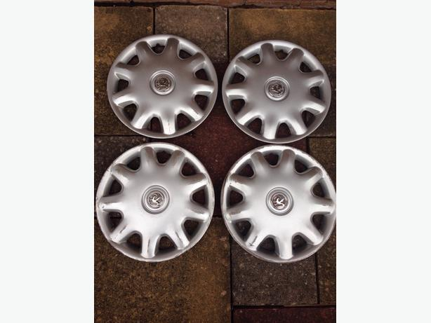 "vauxhall 15"" wheel trims"