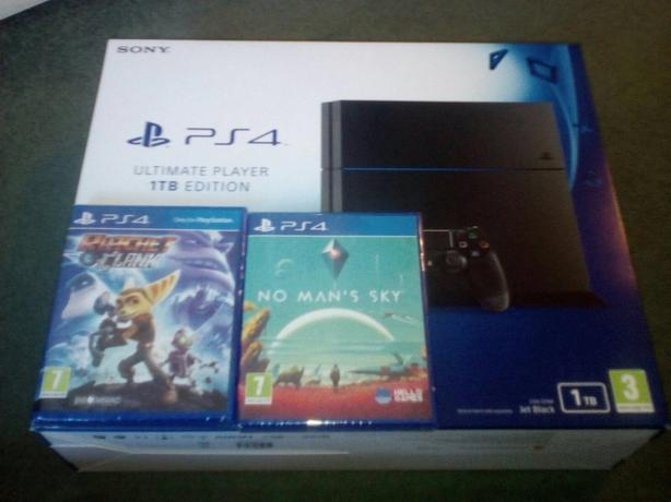 Playstation 4 1TB Brand New Fully Sealed With 2 Fully Sealed Games
