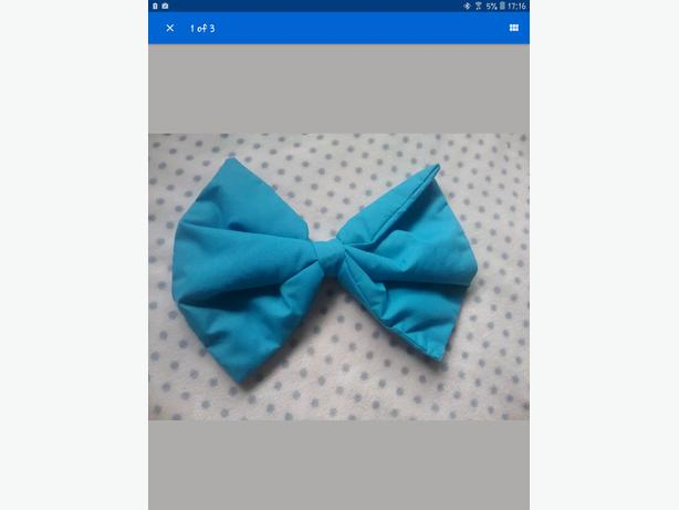 large pram bow blue