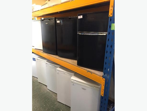 black fridges freezers mini fridges cal 01902 863838