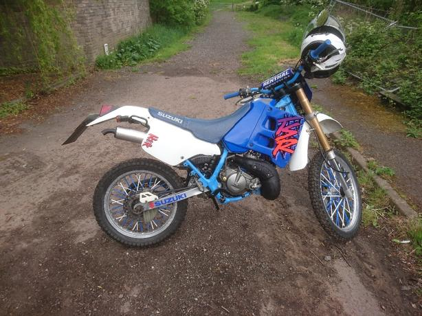 suzuki ts125r  Road Legal