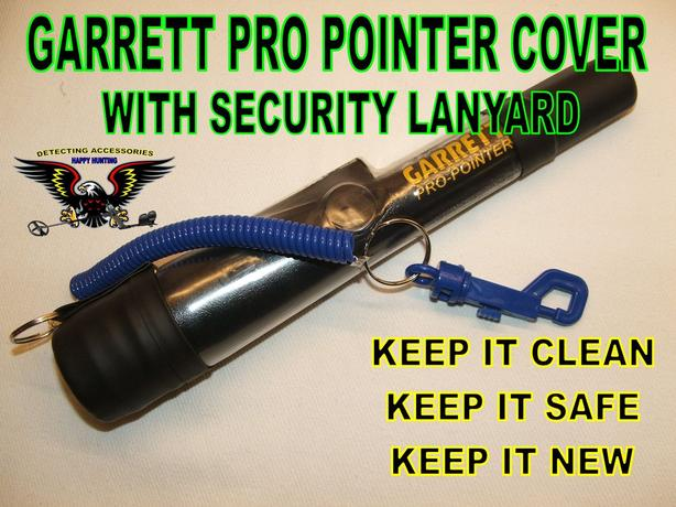 brand new garrett pro pointer and protective lanyard