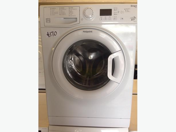 1-9KG HOTPOINT WASHING MACHINE00