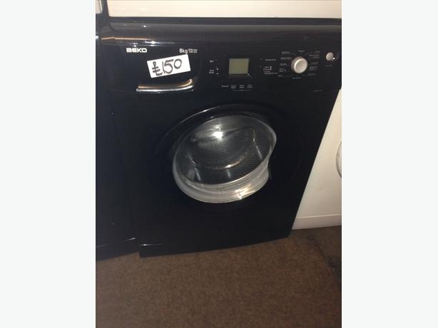 BEKO BLACK 8KG WASHING MACHINE2