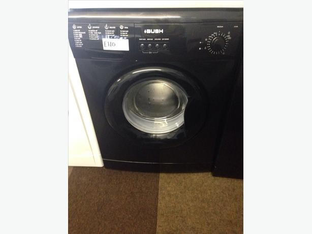 BUSH WASHING MACHINE BLACK