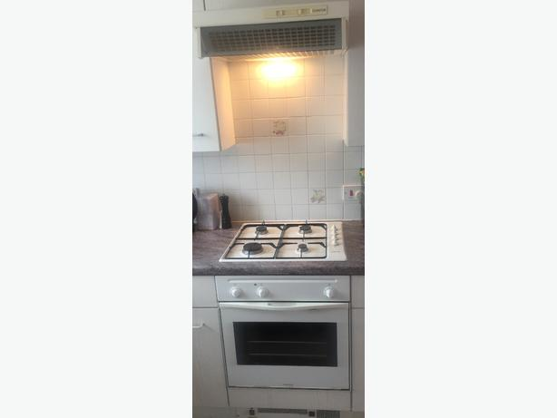 Ariston cooker, hob and extractor fan