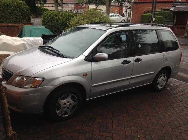 bargain 02 plate mazda mpv 7 seater lpg converted px welcome