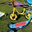 Toddlers bikes and scooters
