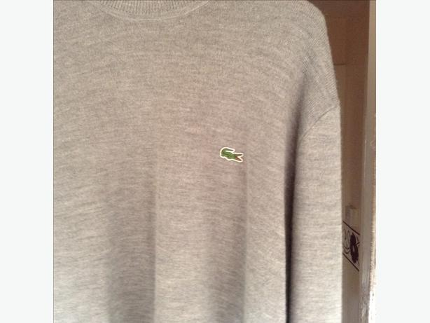Men's Lacoste jumper size large  worn once