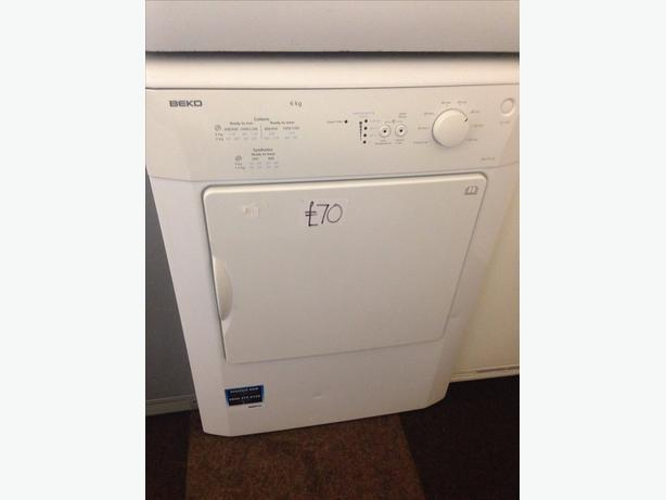BEKO 6KG VENTED DRYER