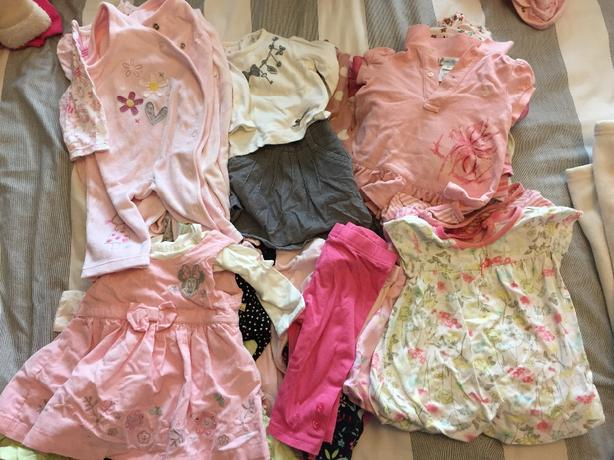 baby 0-3 months  girls clothing bundle