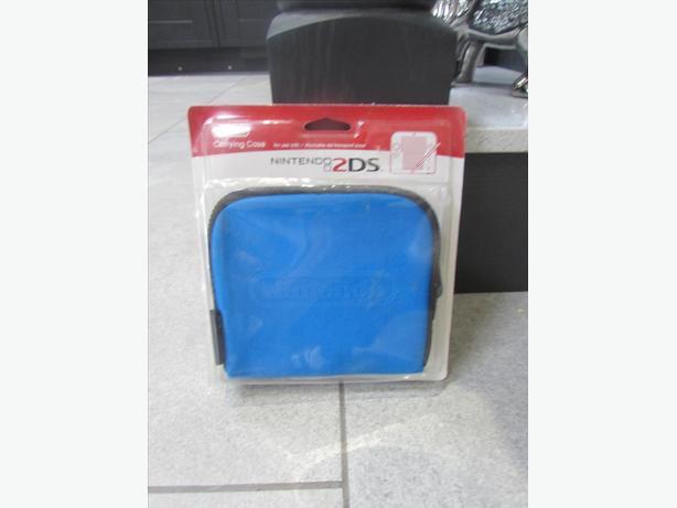 Nintendo 2DS case blue