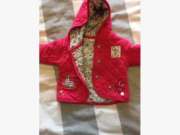 baby girls next coat 0-3 months
