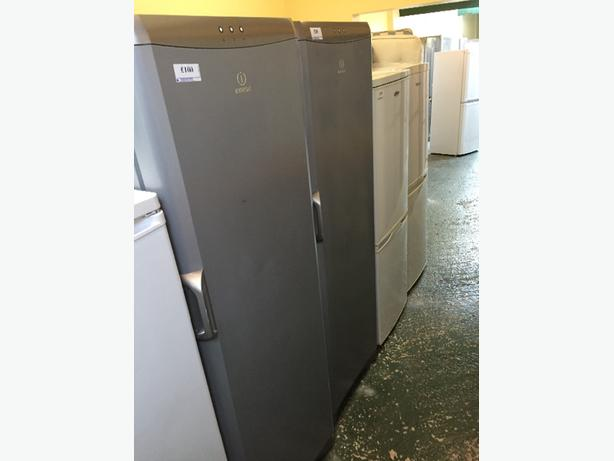 silver tall freezer all working free delivery