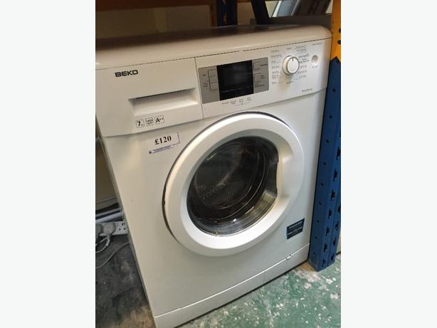 7kg beko 1400 spin free delivery and pipe