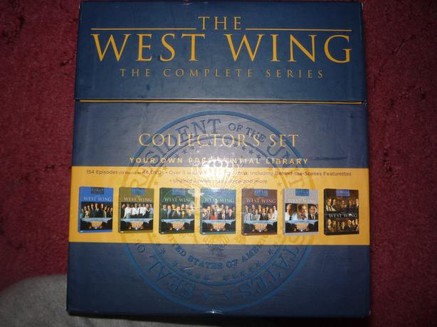 west wing dvds