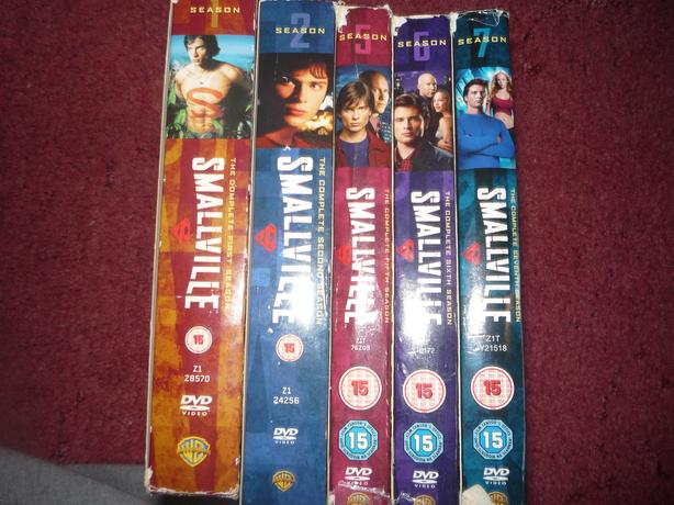 smallville dvds