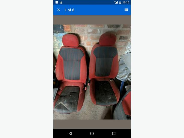 corsa d 5 door two tone ltd ed interior