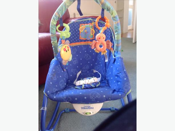 Fisher price infant and toddler rocker